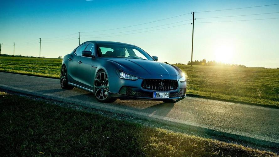 Novitec Tridente boosts the Maserati Ghibli to 476 PS