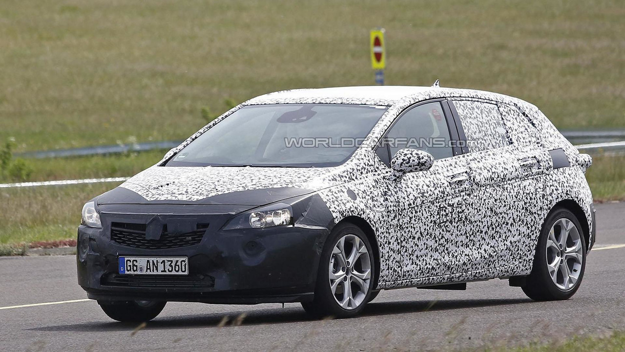 2016 opel vauxhall astra spied up close. Black Bedroom Furniture Sets. Home Design Ideas