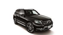 Mercedes GLK 350 4MATIC Schwarz Edition introduced in Japan