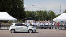 Renault Zoe travels 1,618 km in 24 hours, sets new EV record