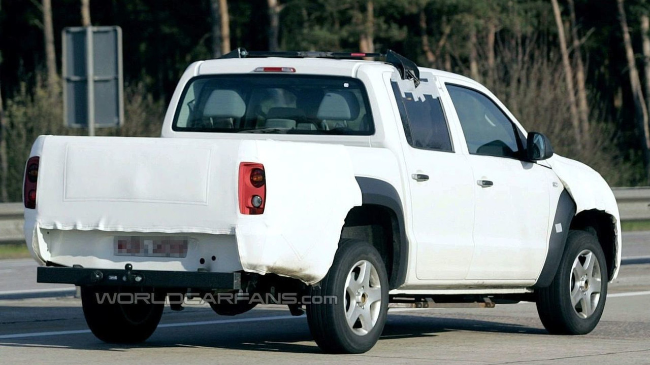 Volkswagen Robust Pickup Spy Photo