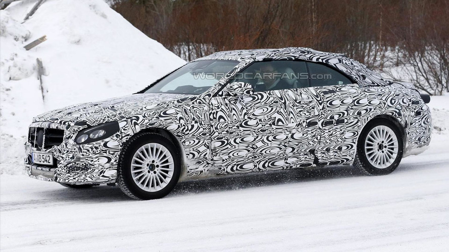 Mercedes-Benz C-Class Cabriolet spied undergoing testing with full body camo