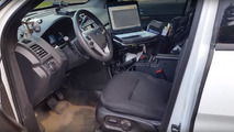 Take a very detailed tour of a US police officer's cop car