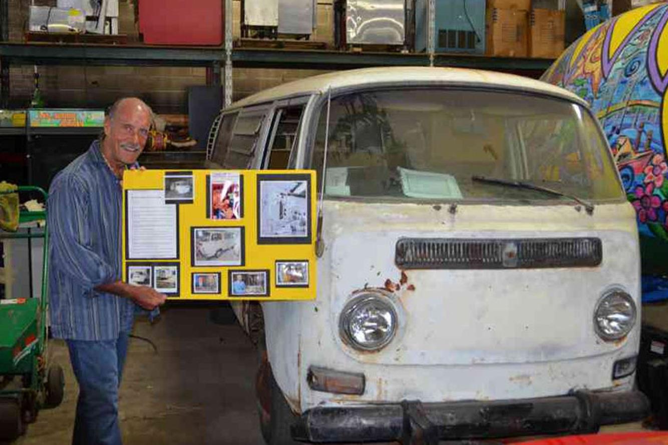 Travel Channel Host Just Bought Dr. Jack Kevorkian's Volkswagen Van