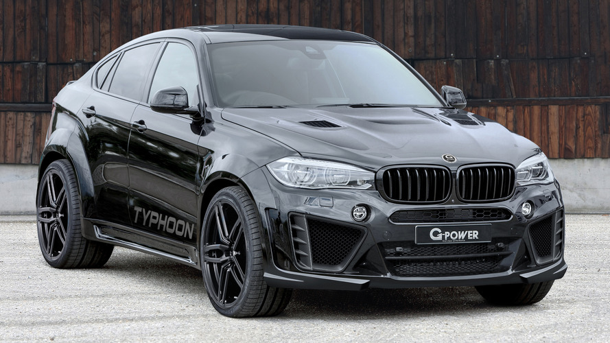 BMW X6 M widened and boosted to 750 hp