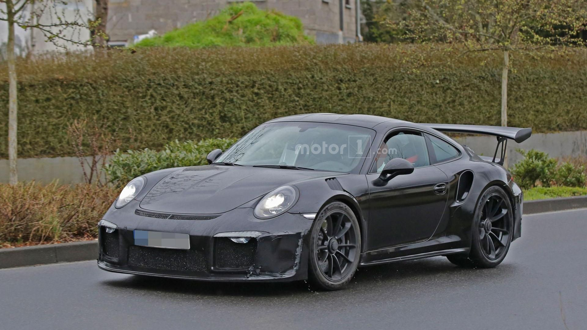 Porsche 911 GT3 RS 4.2 spied for the first time