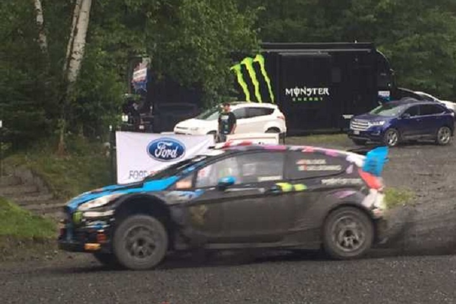 Buy Ken Block's Ford Fiesta Rally Car and Make Your Own Gymkhana