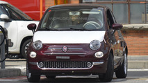 Fiat 500 facelift spied without camouflage