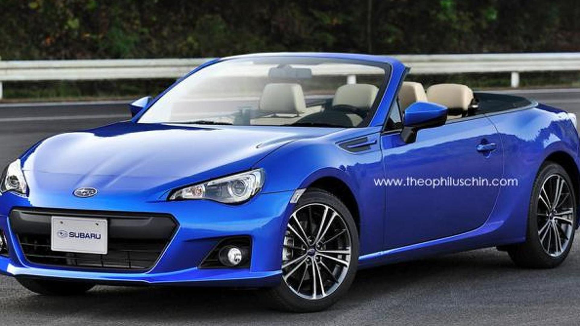 subaru confirms awd twin turbo convertible two seater diesel hybrid brz. Black Bedroom Furniture Sets. Home Design Ideas