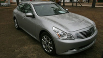 Infiniti G37S Spotted Ahead of Pebble Beach Unveiling