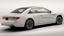 Lincoln Continental render loses rear doors, gains regular handles