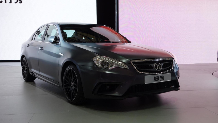 Beijing Auto Shenbao D-Series Aero introduced in Shanghai