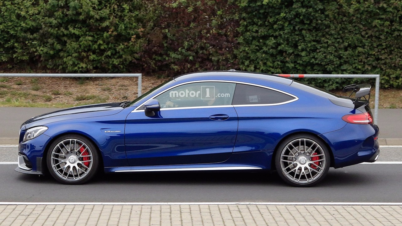 Mercedes-AMG C63 R Coupe Is The Spied Car Youve Been Waiting For forecasting