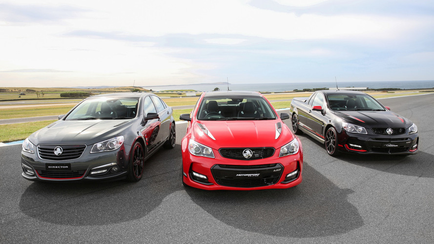Aussie-built Holden Commodore bids farewell with special edition trio