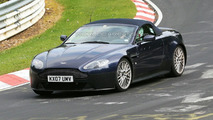 Aston Martin V12 Vantage Roadster Spied at Nurburgring