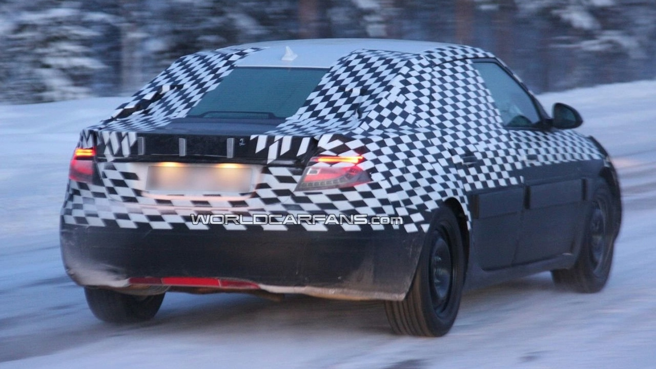 2010 Saab 9-5 Prototype spy photo