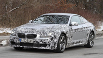 BMW 6-Series Coupe with M-package spied on the road