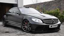 Mercedes CL Black Edition by Prior Design 27.2.2012