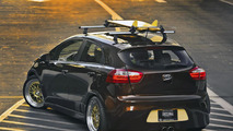 Kia Rio Retro Surf for SEMA - 2.11.2011