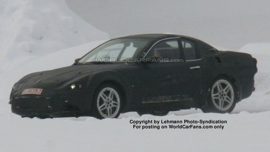 SPY PHOTOS: New Maserati Spyder