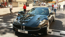 Fisker Karma debuts in Monaco during Gran Prix