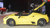 2016 Alfa Romeo 4C Spider at 2015 NAIAS