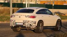 Mercedes GLE 63 AMG Coupe spy photo