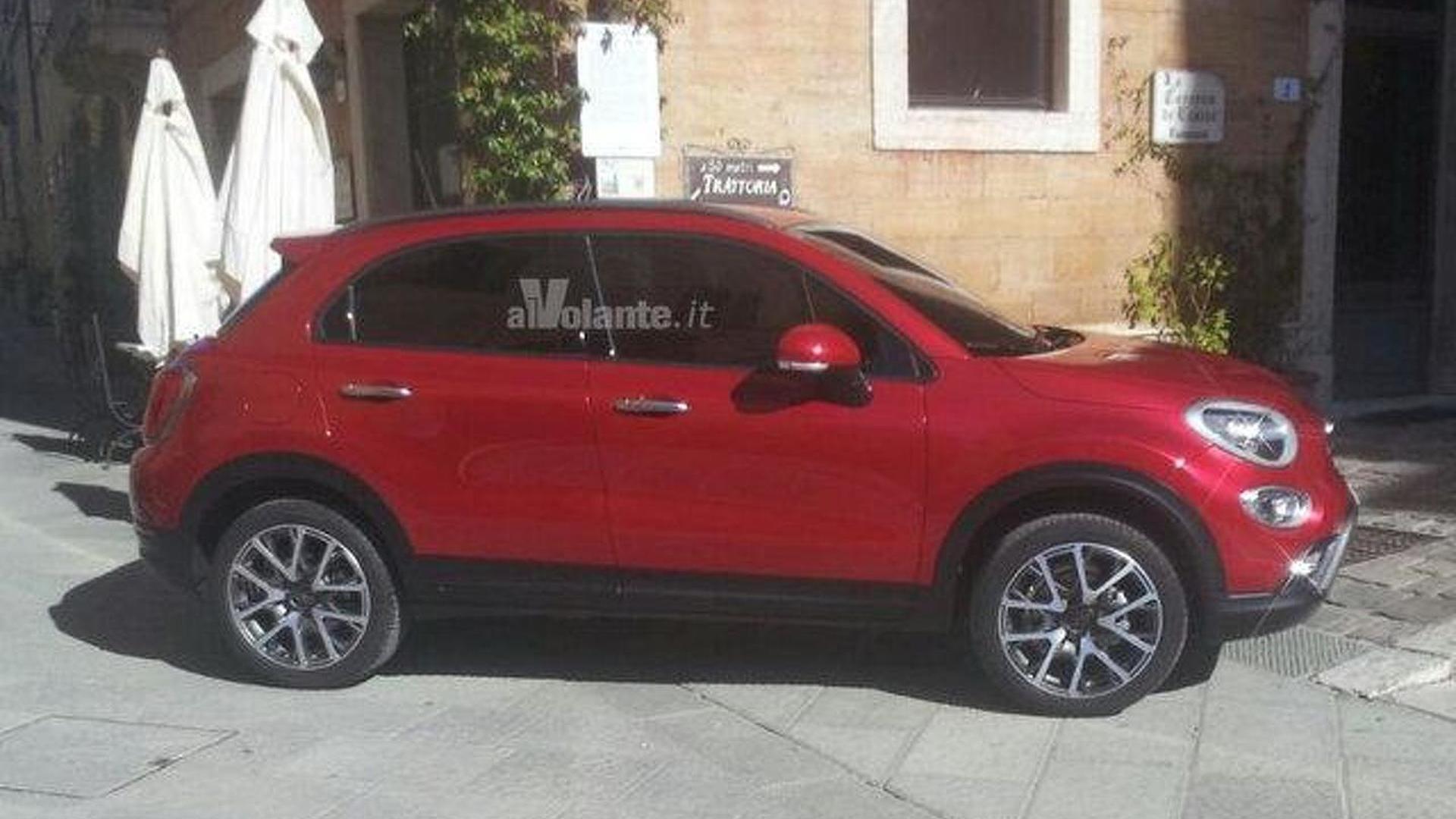Fiat 500X leaked again