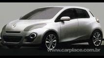 Novo Renault Clio 2012 - Revista divulga imagens da possível nova geração do hatch