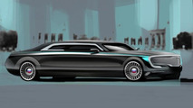Russian presidential limo concept by Arpad Takacs 25.2.2013