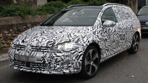2014 Volkswagen Golf VII Estate spied testing [video]