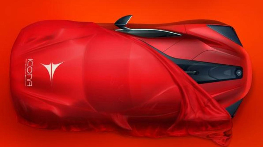 Icona teases V12-powered Vulcano for Shanghai Auto Show