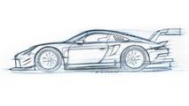 Porsche 911 RSR makes pit stop in LA before 2017 track debut