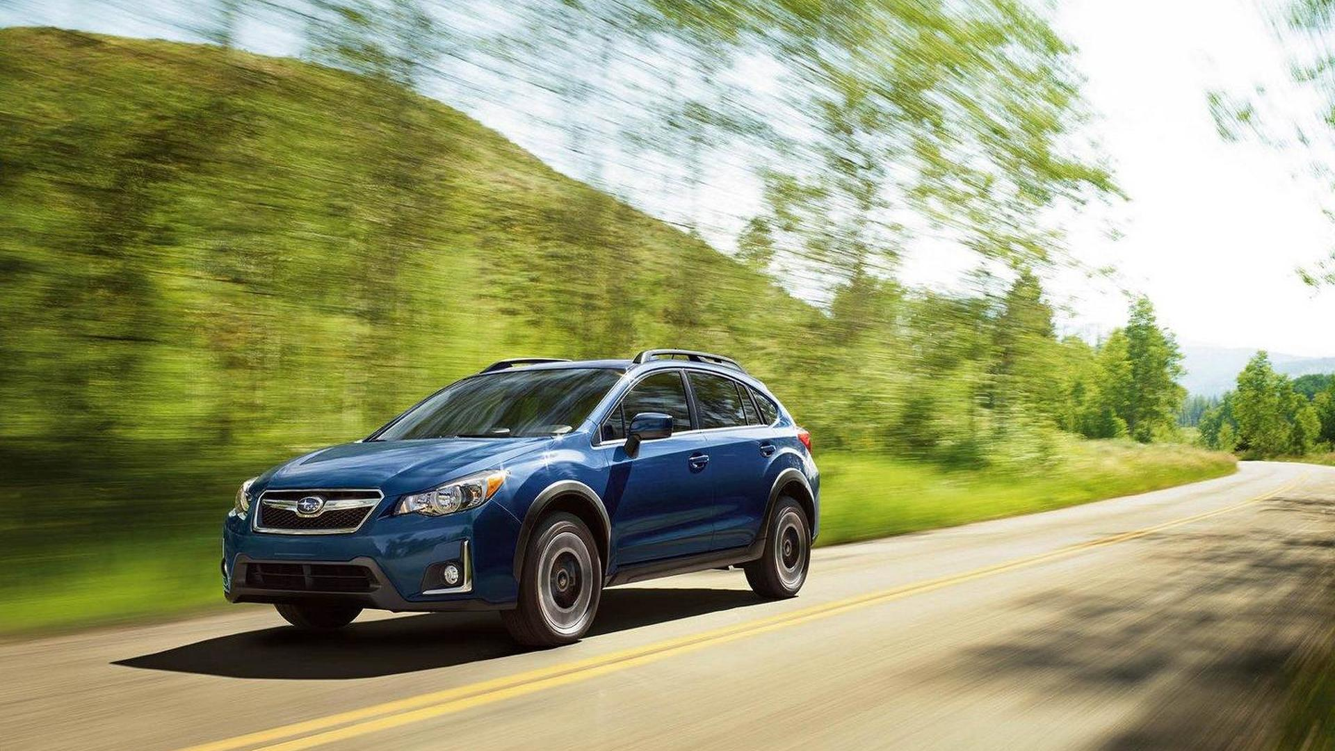 2016 Subaru Crosstrek facelift revealed