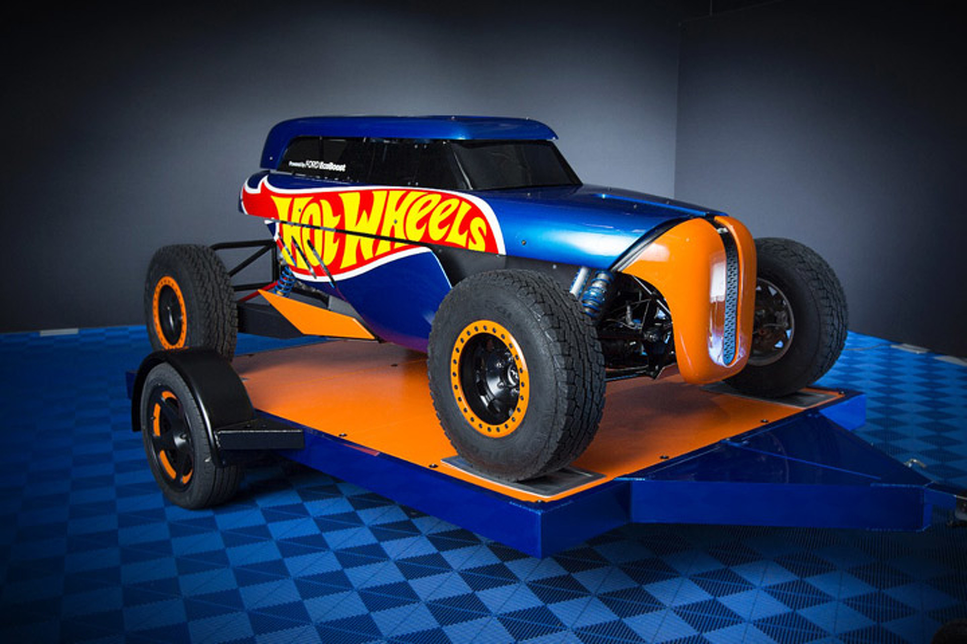 Watch the Hot Wheels Rip Rod Unleash in the Desert