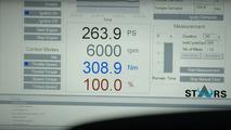 Hyundai i30 2.0 Turbo development car