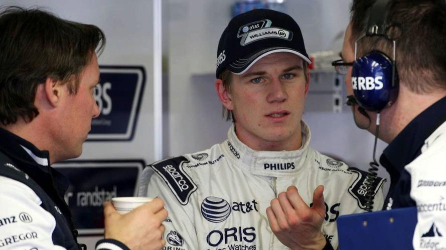 No 'negative' pressure from bosses - Hulkenberg