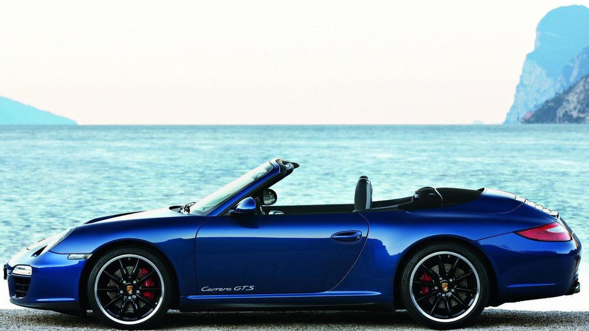 2011 Porsche 911 Carrera GTS wide body revealed [video]