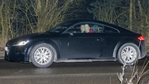 2015 Audi TT spied with minimal camouflage