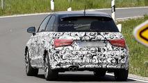 2015 Audi A1 facelift spy photo