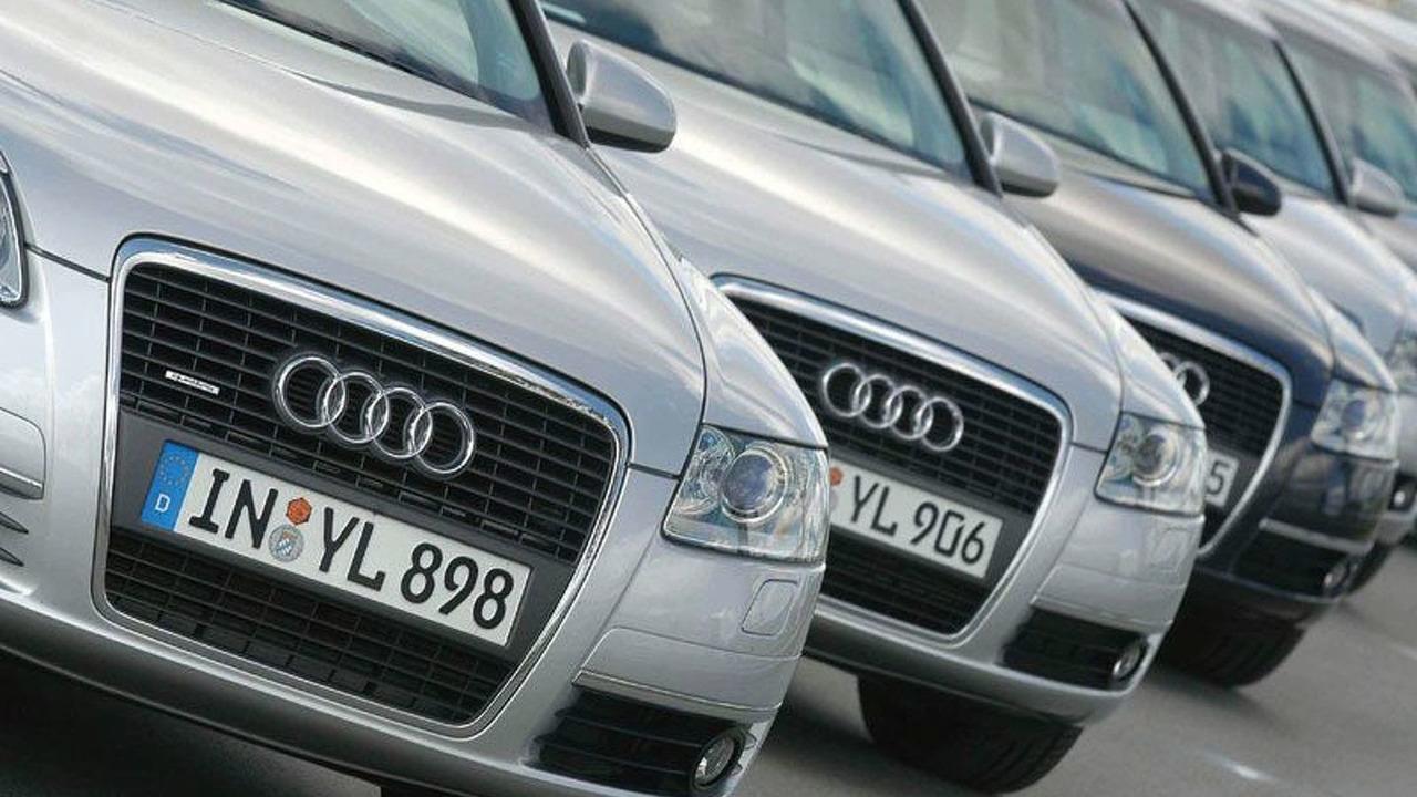 Audi A6 fleet