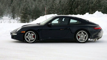 New Porsche 911 Targa spy photos