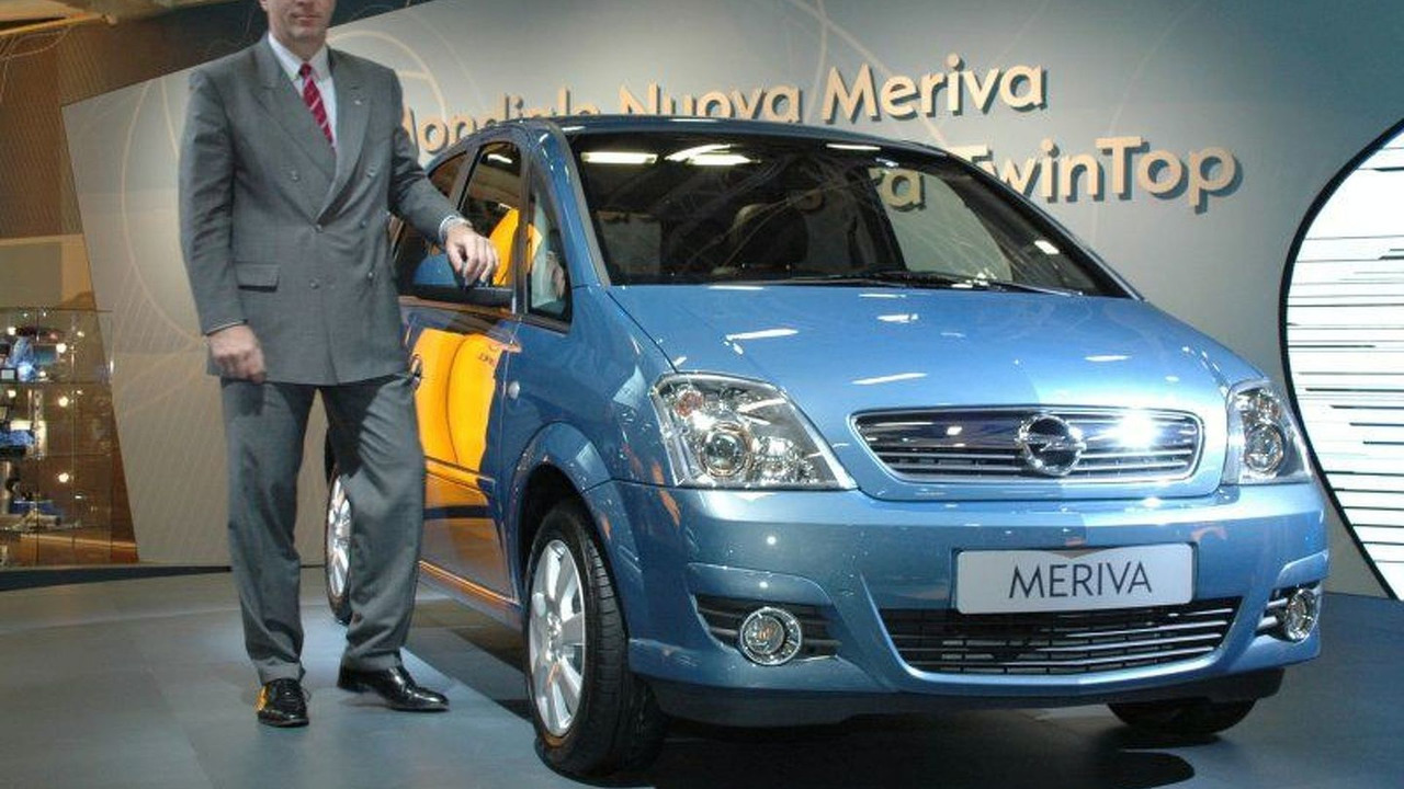 New Opel Meriva Generation World Premier