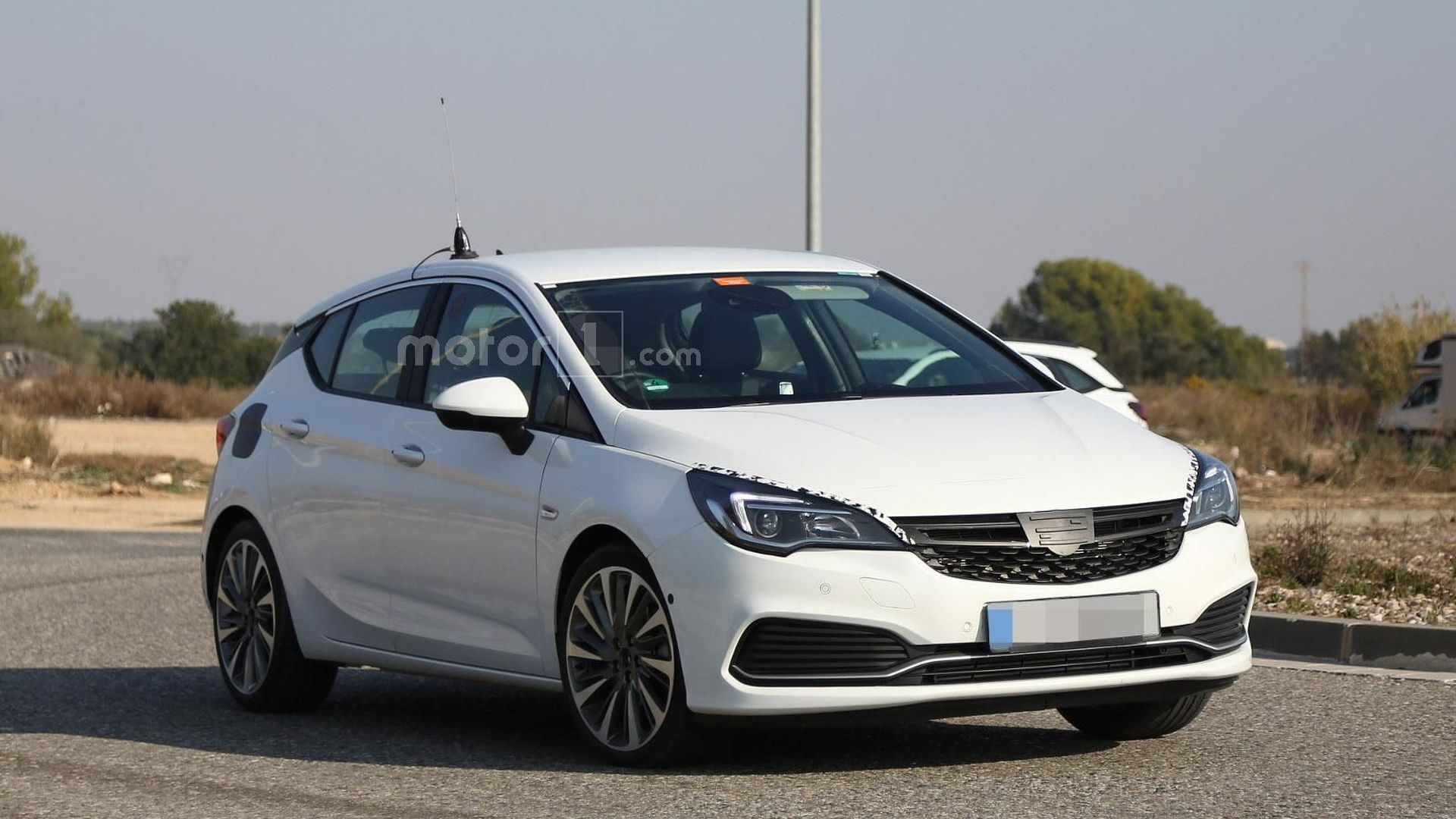2016 Opel Astra GSI spied, could have 250 hp