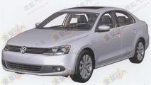 Chinese-market Volkswagen Jetta set for Shanghai debut