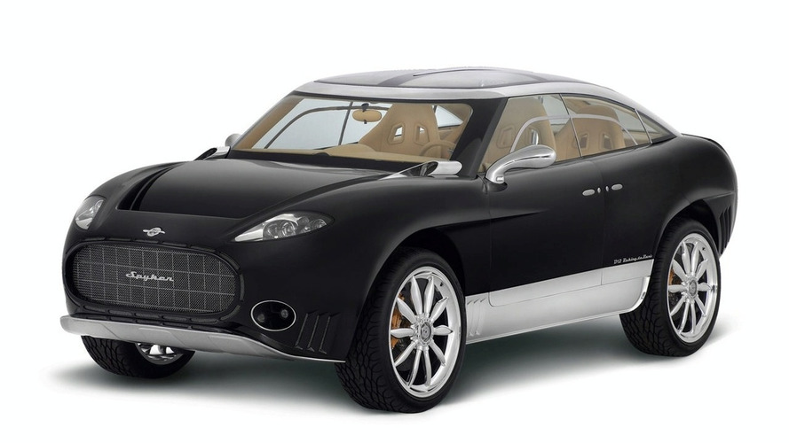 Spyker D12 Peking to Paris SUV Heading for Production