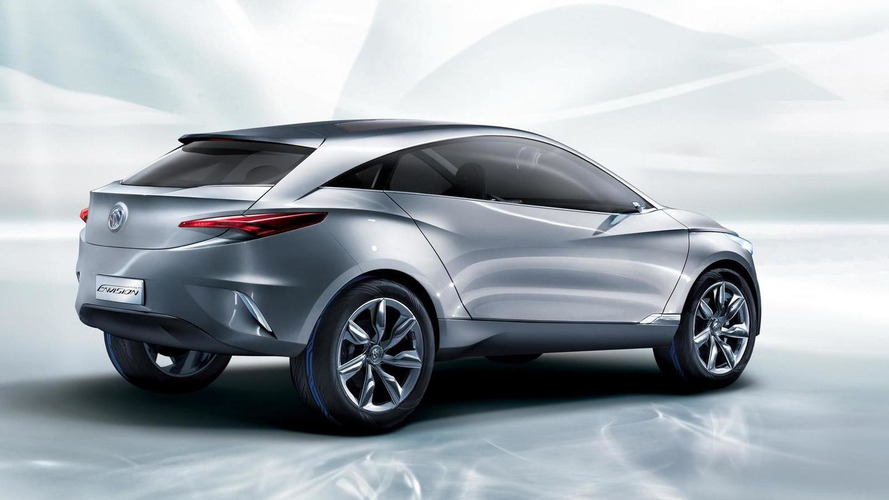 Buick Envision concept unveiled