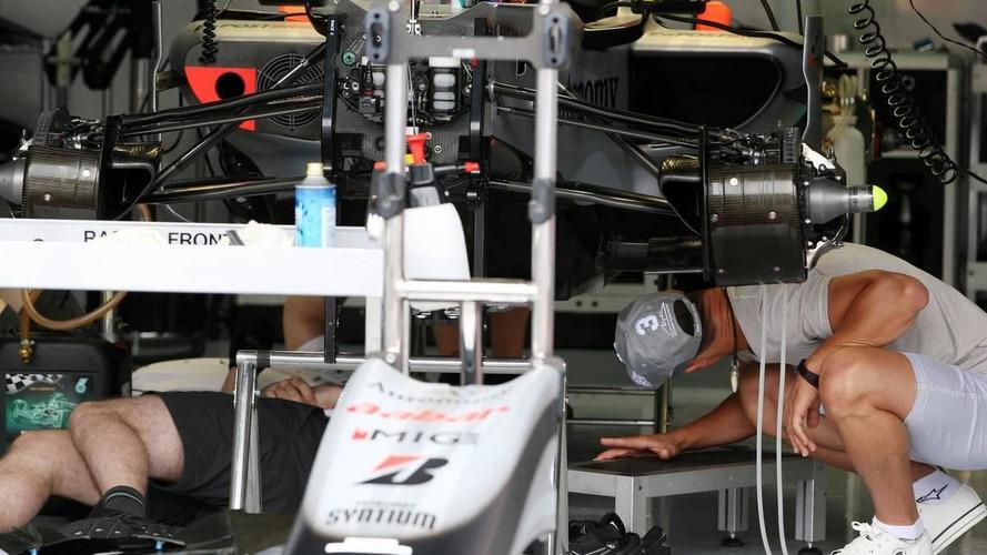 Car improvements for Mercedes and Ferrari