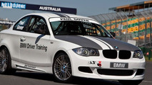 BMW 135i Coupe to Race V8 Supercar and BMW Sauber F1 car at Australian Grand Prix