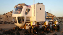 NASA Lunar Rover First Public Appearance in U.S. Inaugural Parade